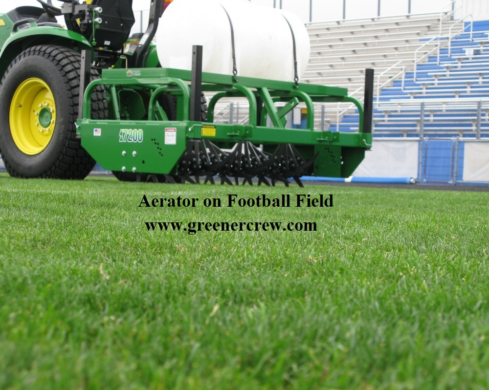 Aerator Turf Maintenance Heavy Duty Greener Crew