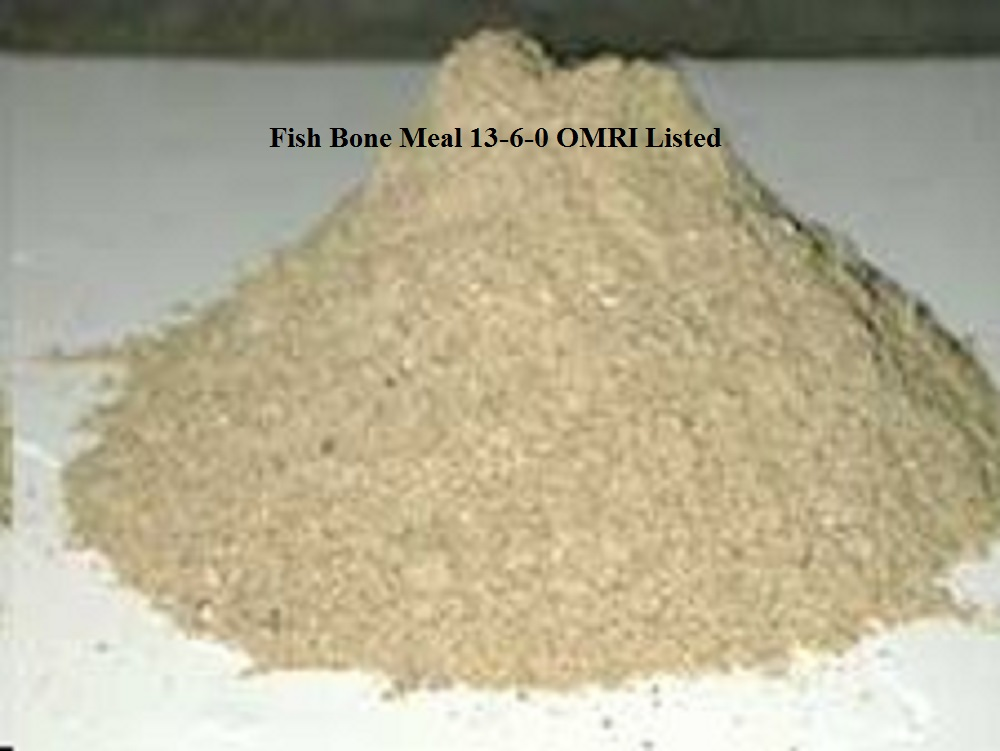 fish bone meal 3 16 0 omri listed 450 lbs greener crew