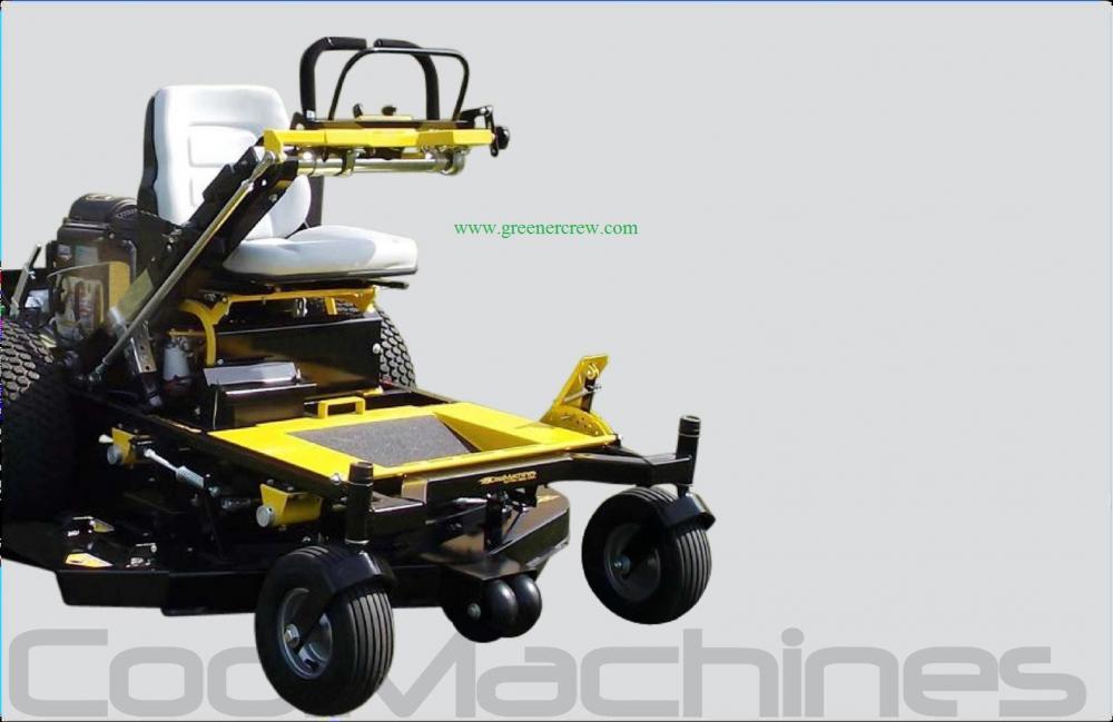 cool machines cm26ka52 52 zero turn riding walk behind lawn mower